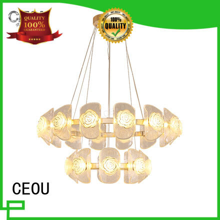 CEOU circular modern pendant light fixtures company for hotel