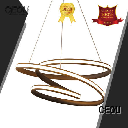 CEOU acrylic modern pendant lighting manufacturers for living room