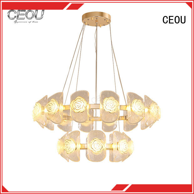 CEOU acrylic kitchen pendant light fixtures for dinning room