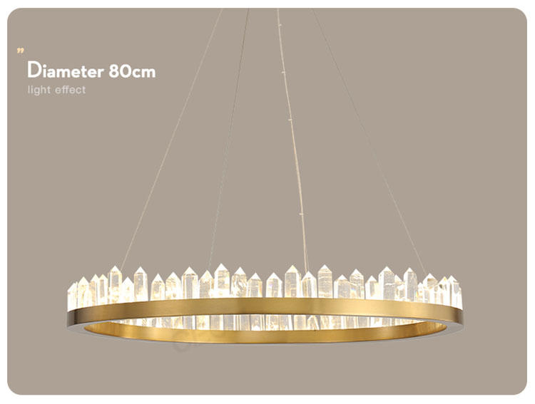 CEOU acrylic pendant chandelier manufacturer for dinning room-2