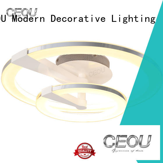 CEOU acrylic crystal ceiling lights manufacturer for living room