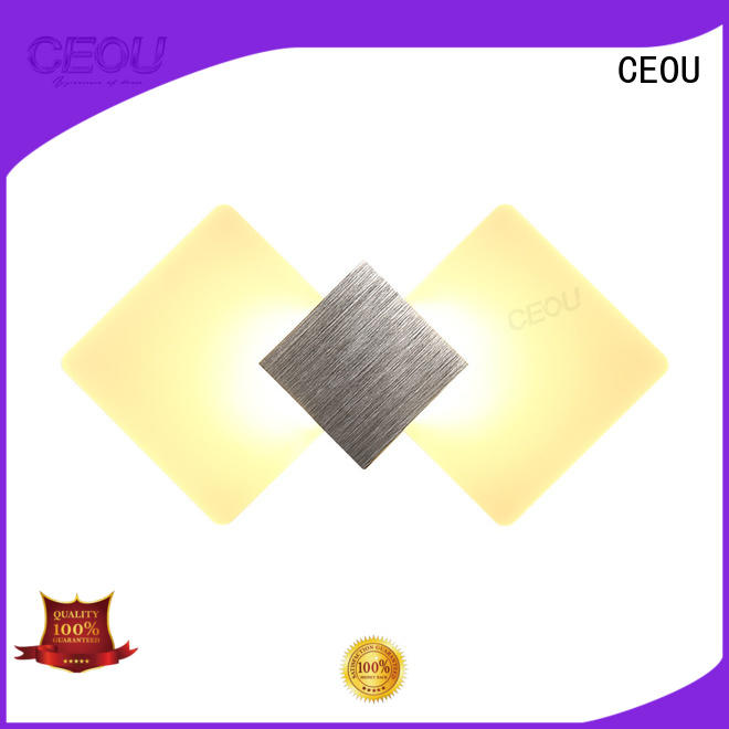 CEOU aluminum fancy wall lights for living room supplier for home decor