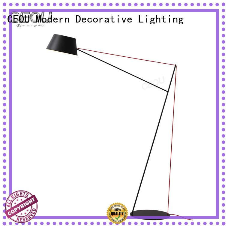 CEOU bow shape led floor reading light for business for bedside