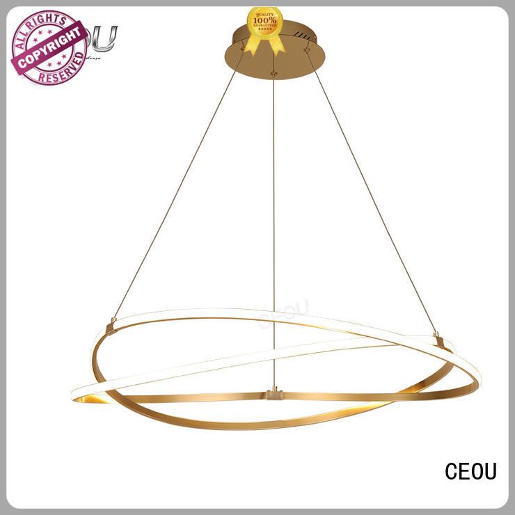 CEOU linear modern pendant lighting kitchen supplier for hotel