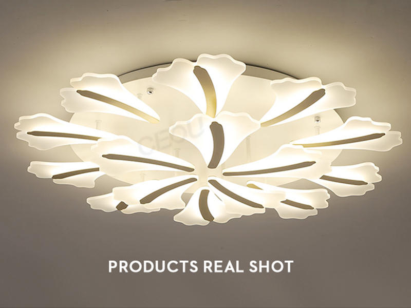 luxury ceiling led panel light glass manufacturer for bedroom