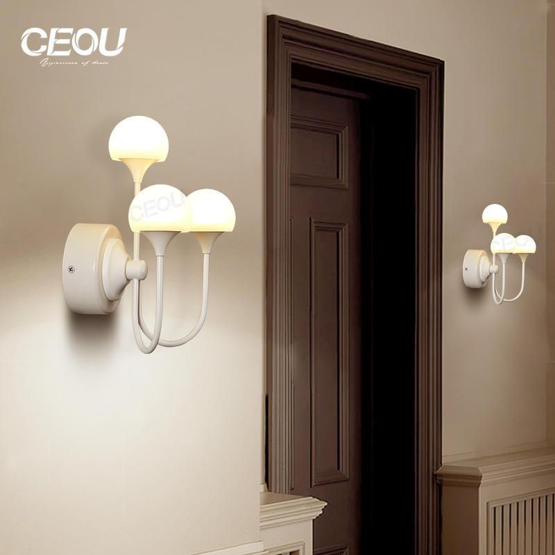 Mushroom shaped fancy high transparency led wall lamp CB1026