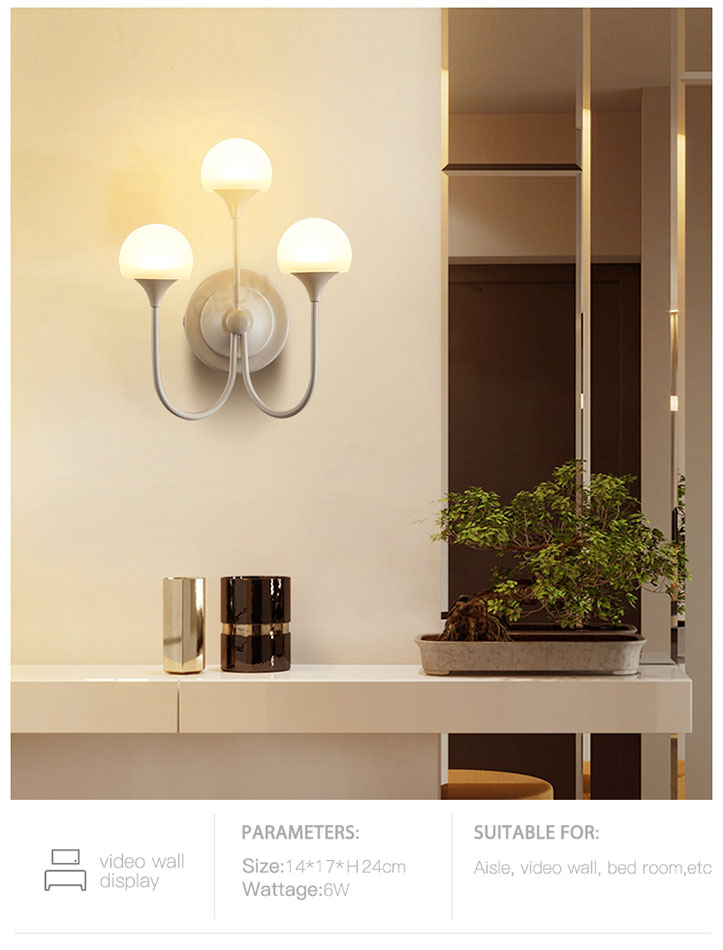 CEOU clear led wall sconce high quality for home decor-8