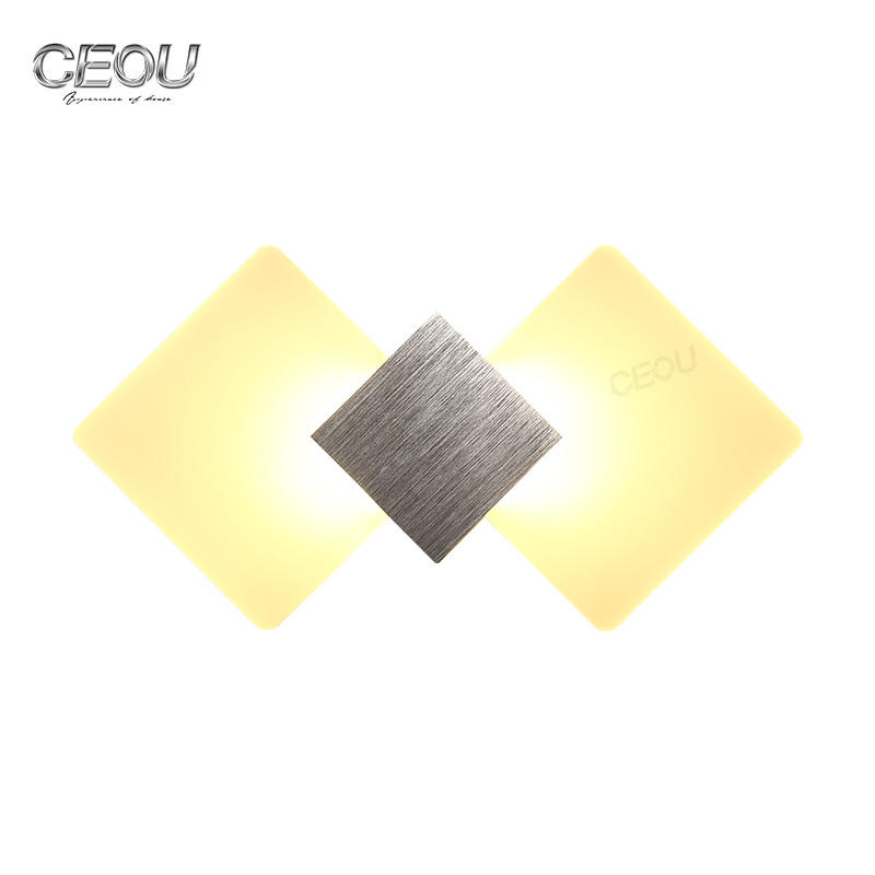 Modern indoor lozenge LED wall lamp CB1030A/B