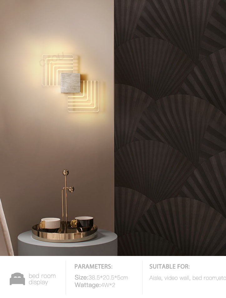 CEOU aluminum fancy wall lights for living room supplier for home decor-9