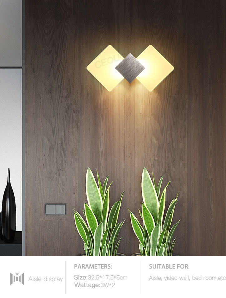 CEOU aluminum fancy wall lights for living room supplier for home decor-10