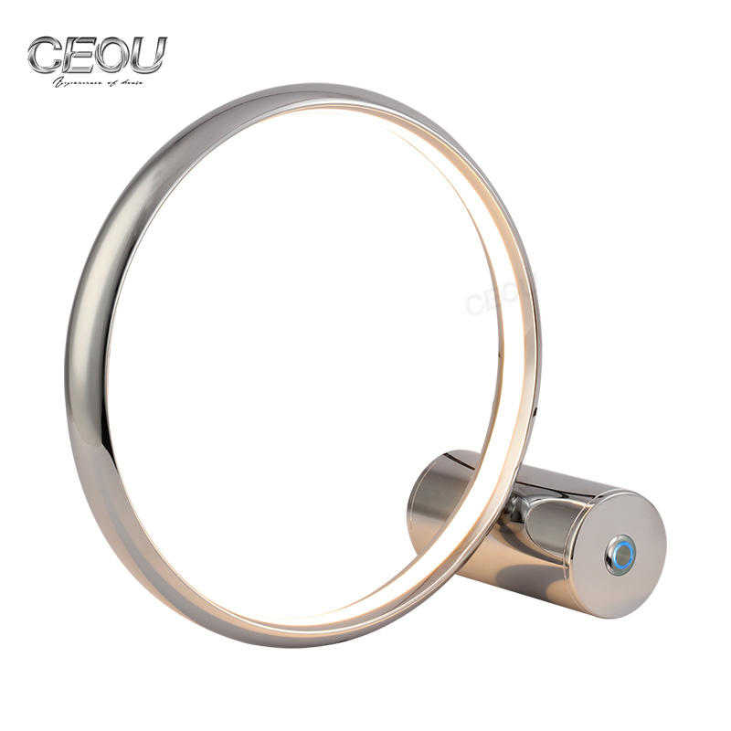 Circle ring desk simple round LED table lamp CT1028A/B
