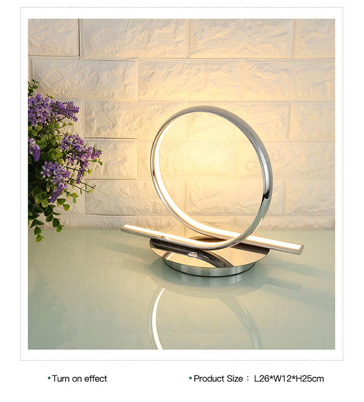CEOU simple round led table lamp supplier for residential