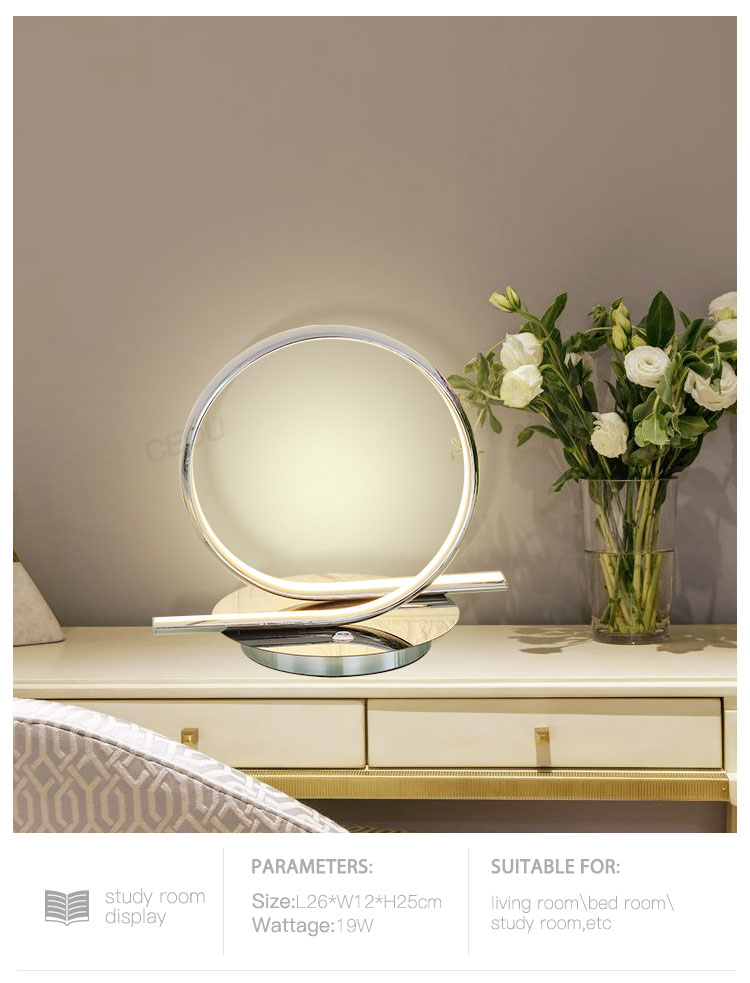 CEOU simple round led table lamp supplier for residential-8