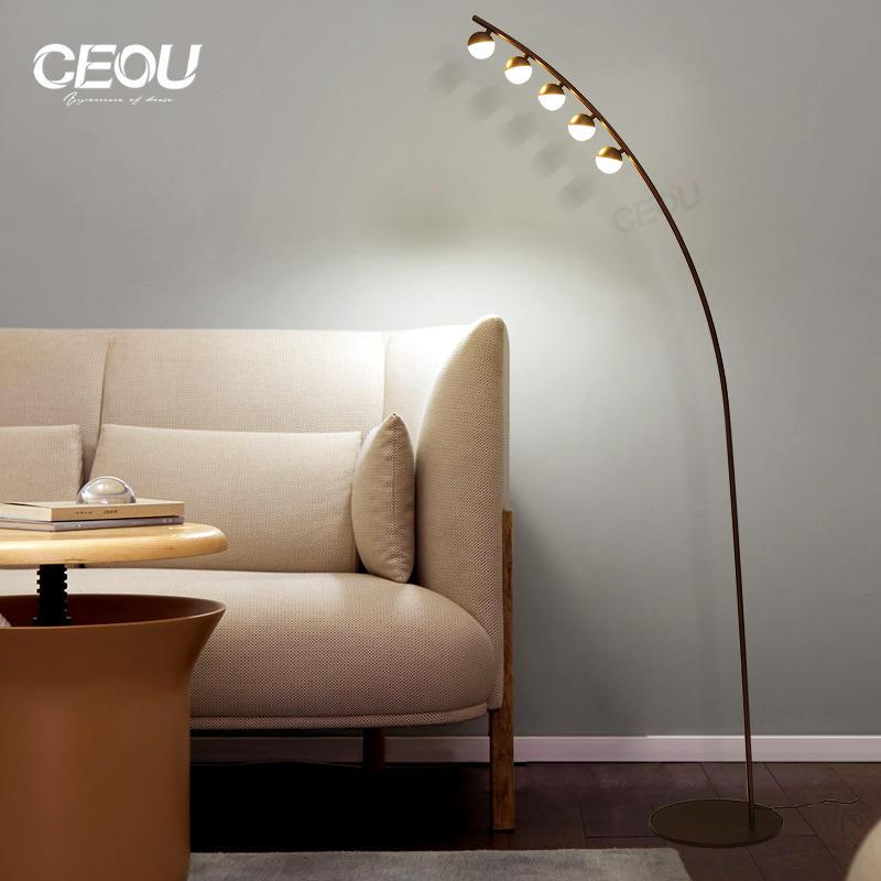 Modern decorative aluminum floor lamp CL1026
