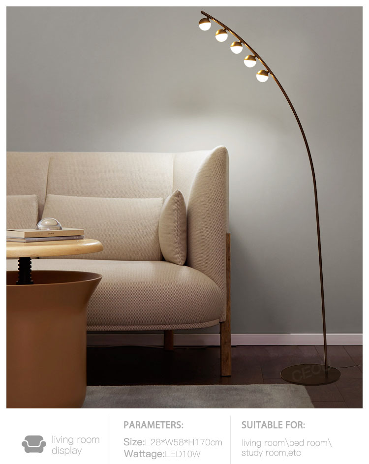 CEOU quality modern adjustable floor lamp customized for living room-10