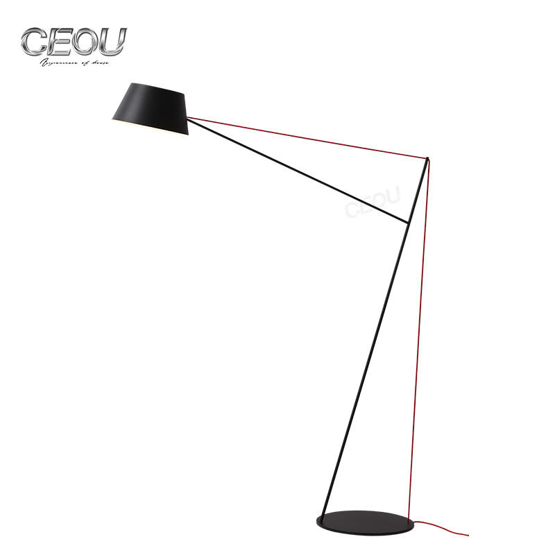 Modern living room bow shape floor lamp CL1027