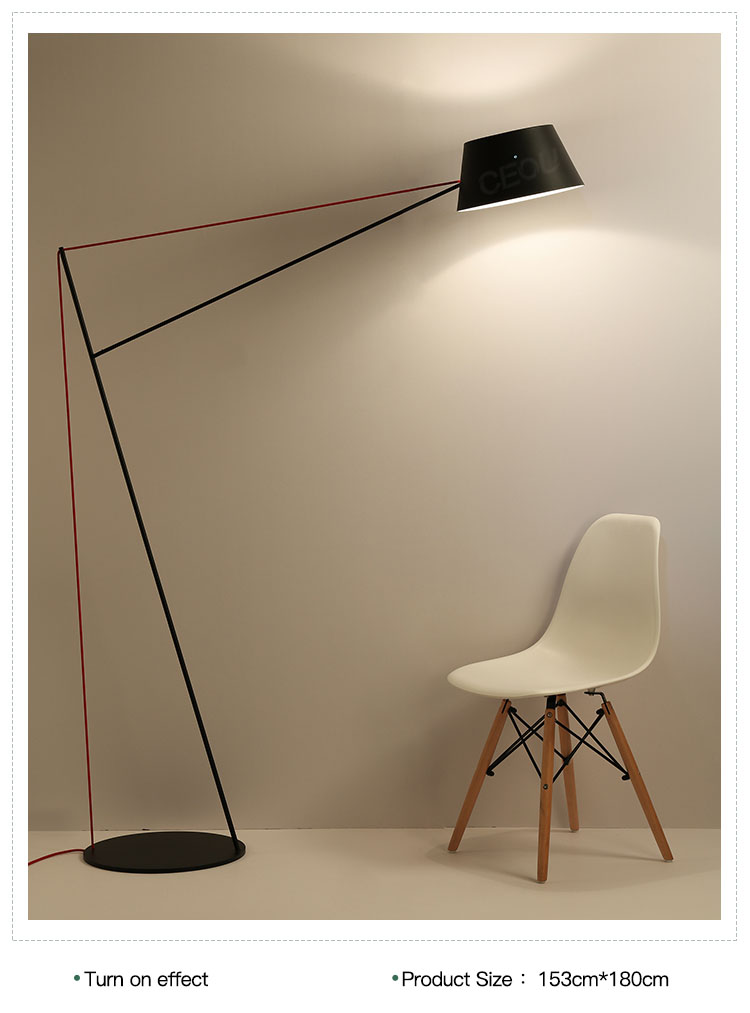 product-Modern living room bow shape floor lamp CL1027-CEOU-img