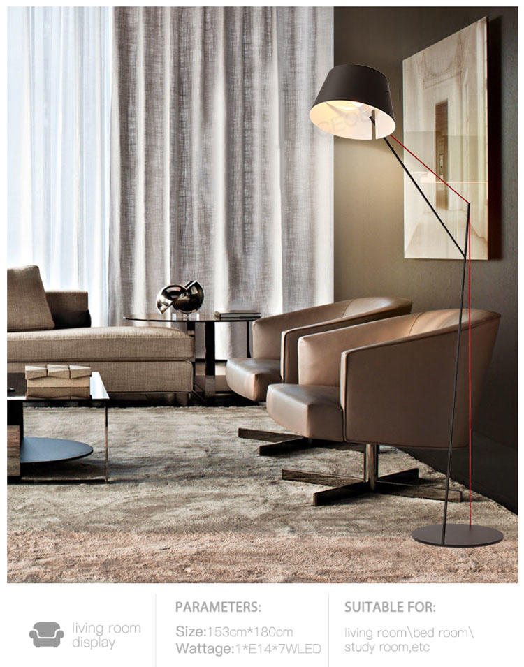 CEOU acrylic living room floor lamps customized for hone decor