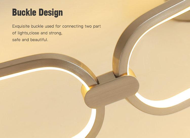 creative led kitchen ceiling lights flower shape customized for living room-5