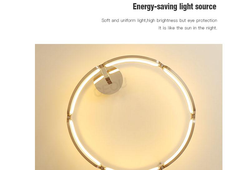 creative led kitchen ceiling lights flower shape customized for living room-6