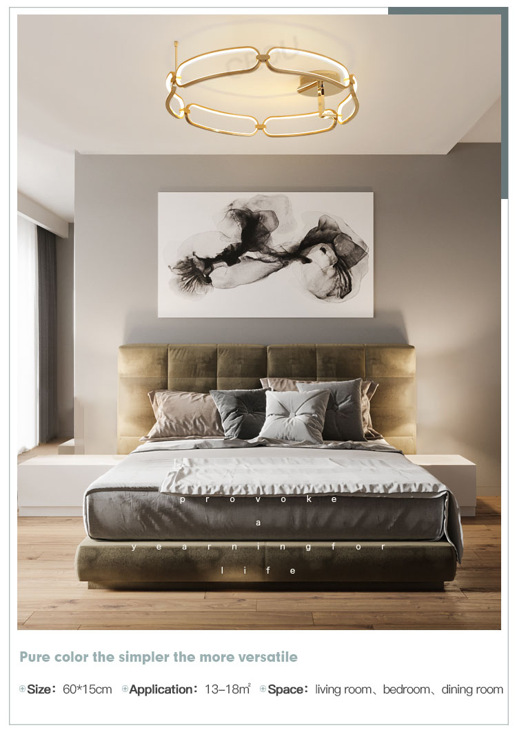 creative led kitchen ceiling lights flower shape customized for living room-10
