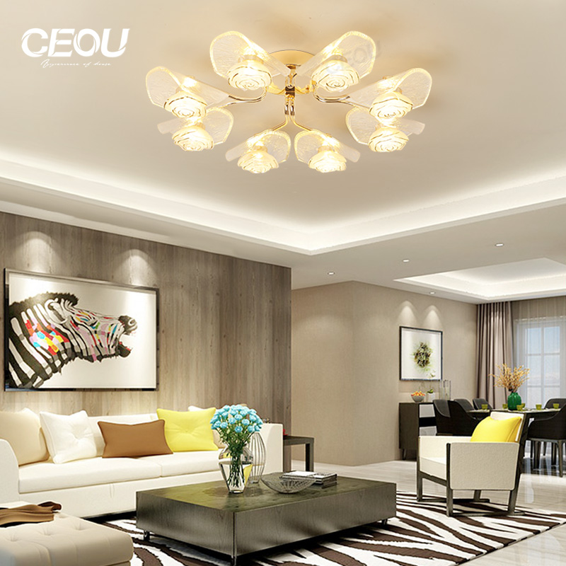 application-CEOU creative decorative led ceiling lights acrylic for living room-CEOU-img-1