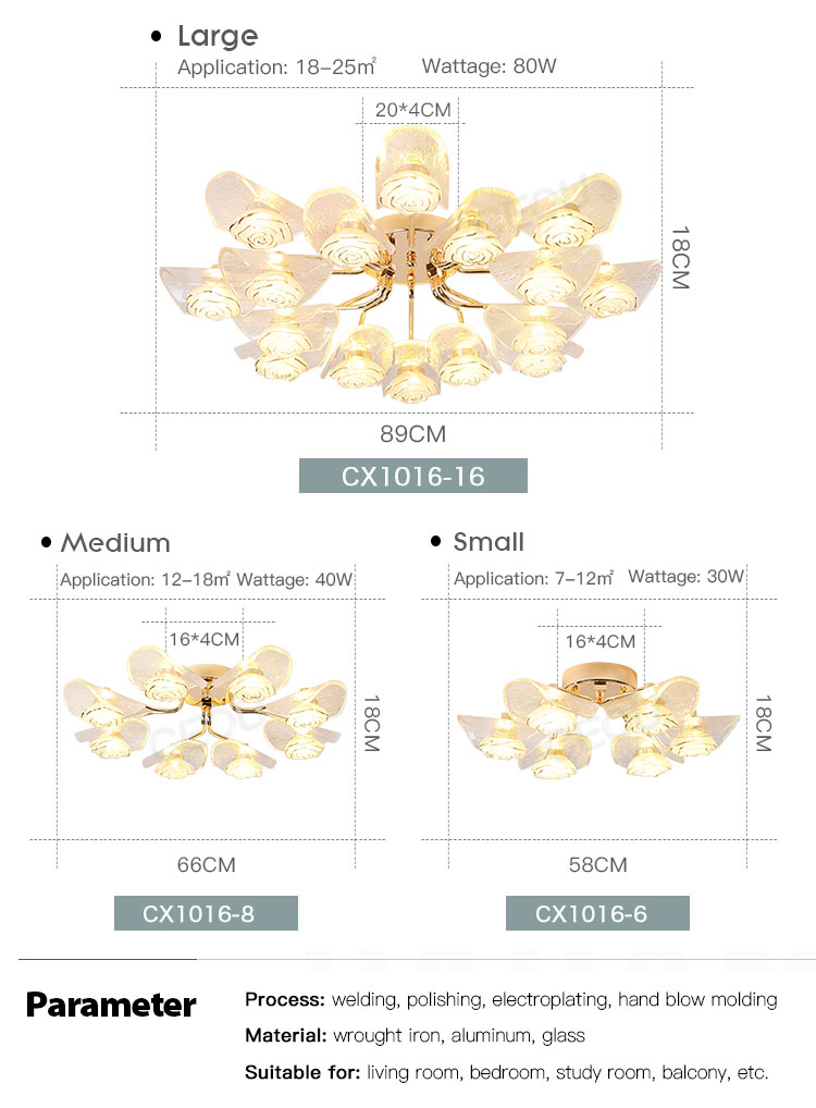 CEOU gold crystal ceiling lights manufacturer for hotel-4