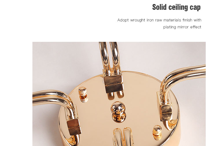 CEOU gold crystal ceiling lights manufacturer for hotel-6