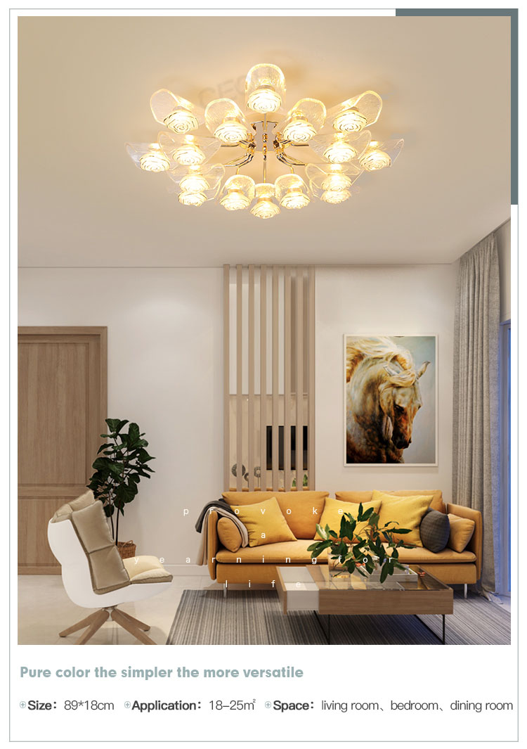 CEOU gold crystal ceiling lights manufacturer for hotel-10