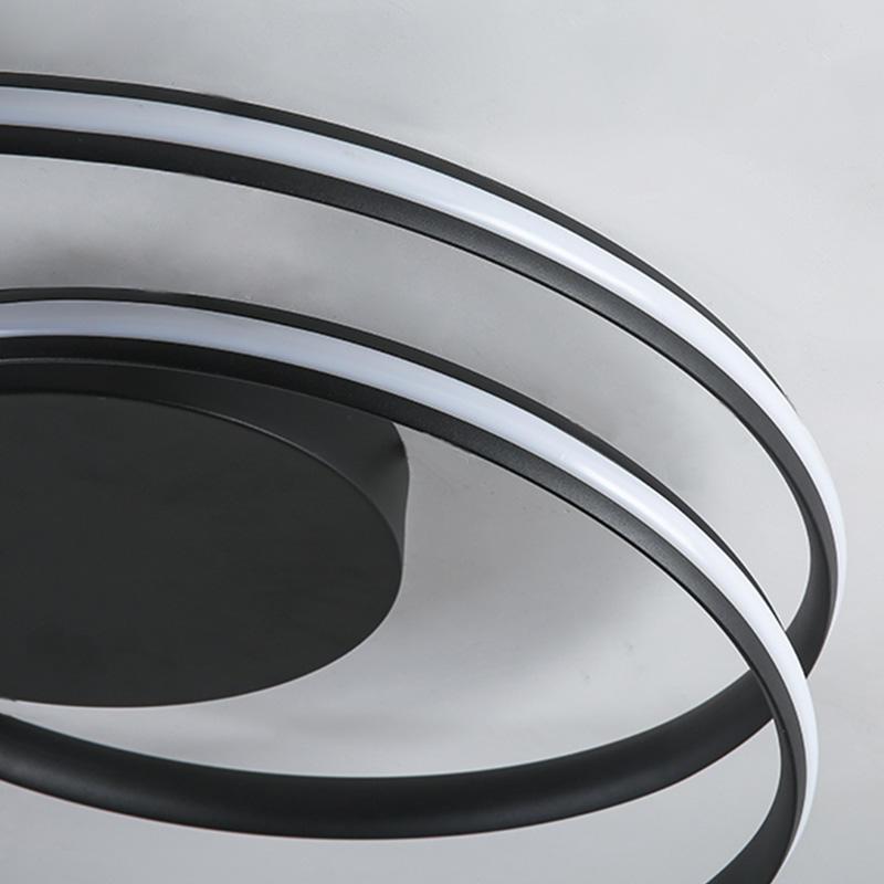 Hot selling sand black aluminum ceiling light CX1021