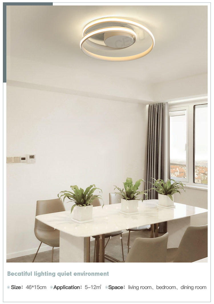 CEOU acrylic modern ceiling lamps supplier for bedroom
