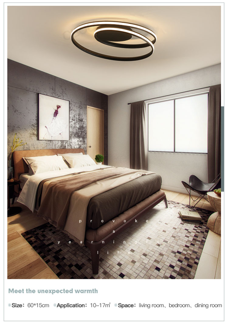 CEOU acrylic modern ceiling lamps supplier for bedroom-9