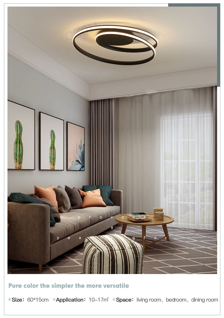 CEOU acrylic modern ceiling lamps supplier for bedroom-10