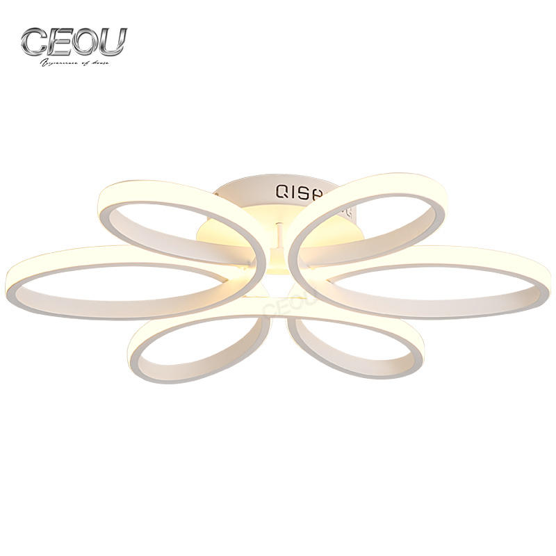 Low price white led ceiling linear light for living room and bedroom CX1023