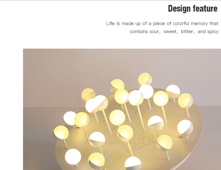 product-Modern aluminum LED ball hanging ceiling light CX1026-CEOU-img