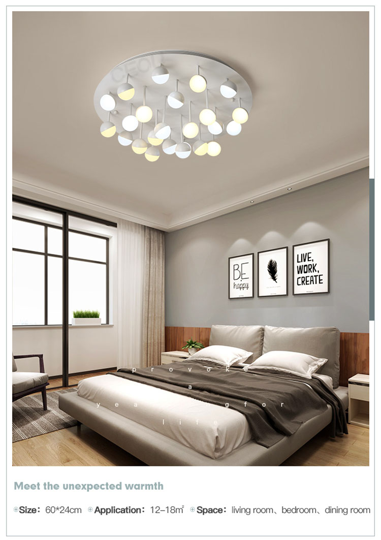 CEOU acrylic modern ceiling lights living room high quality for living room-9