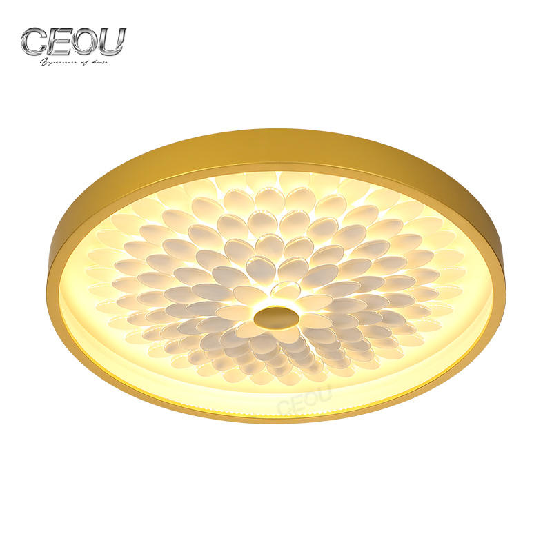 Original design sunflower acrylic led ceiling light CX1028