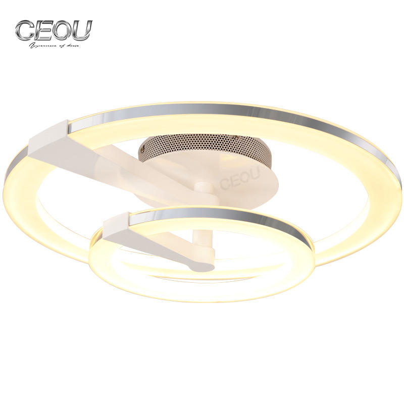 Angel halo gold modern ceiling light modern for bedroom CX1029A