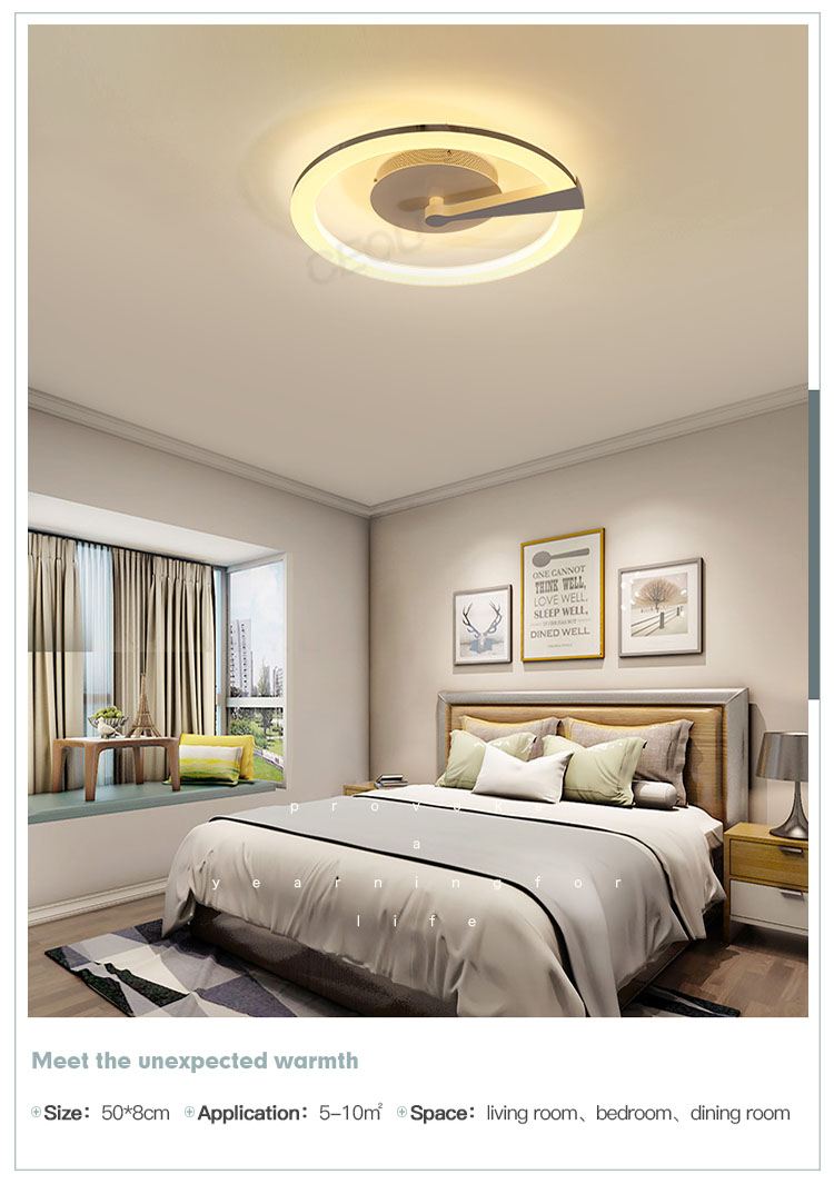 contemporary led ceiling lamp round manufacturer for home decor-9