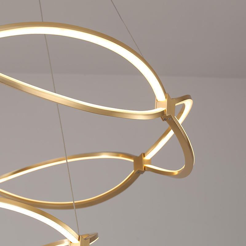 New design luxury gold chandelier pendant light CD1001