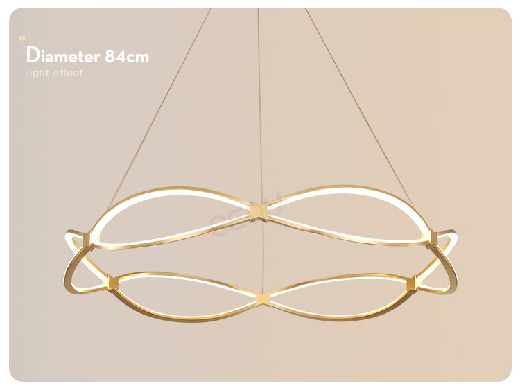 product-New design luxury gold chandelier pendant light CD1001-CEOU-img