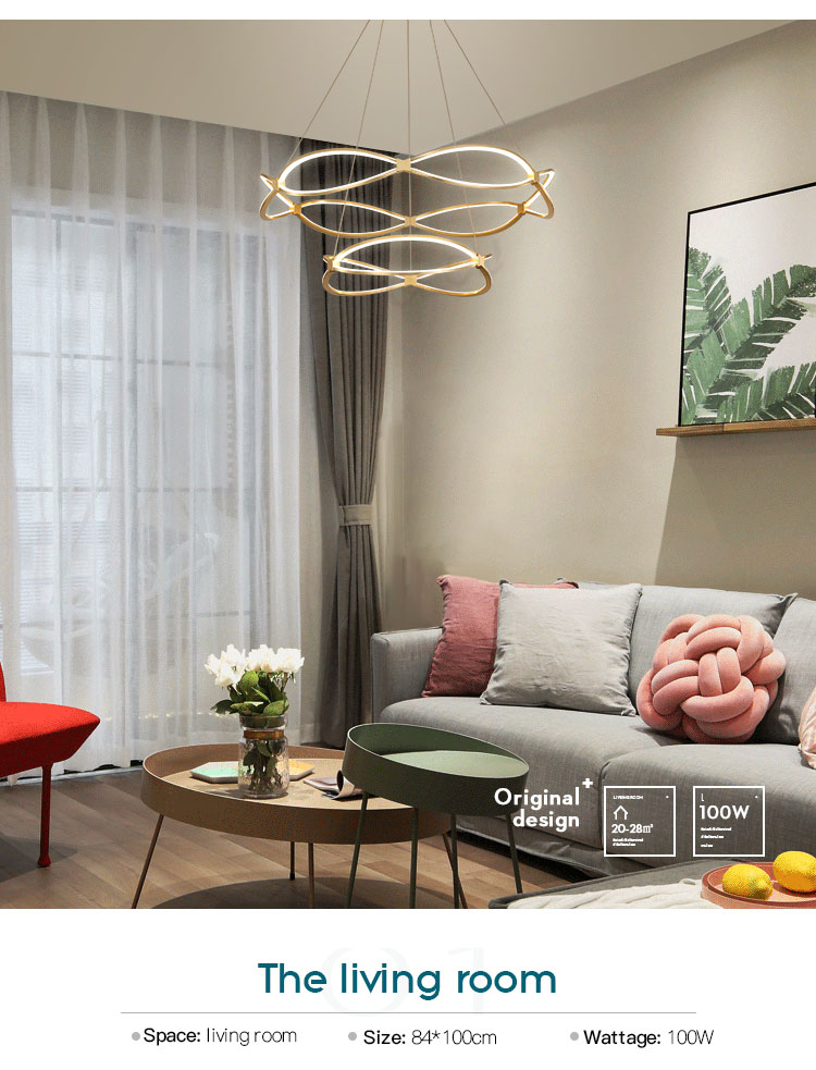 CEOU luxury hanging lamps for living room manufacturer for hotel-8