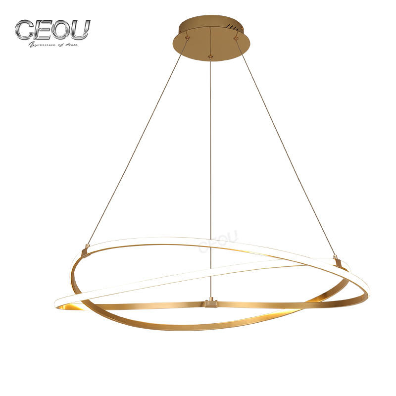 Original patent design decorative modern pendant light CD1003