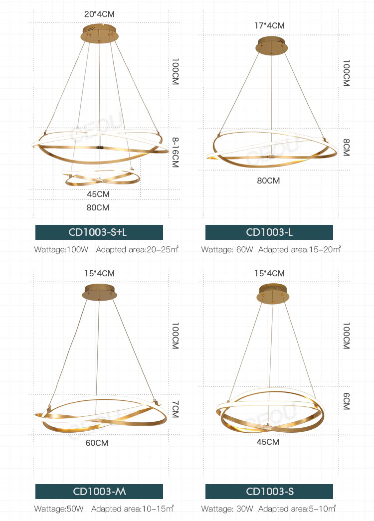 luxury modern chandeliers cheap customized for hotel CEOU-Decorative Light Manufactures-Modren Light-1