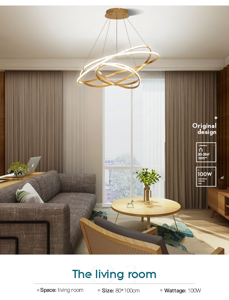 CEOU acrylic hanging pendant lights supplier for dinning room-8