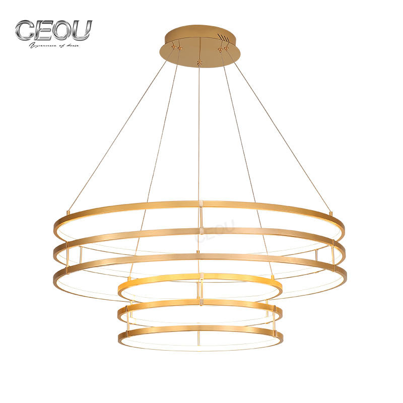 Energy saving 2019 new modern circular led pendant light CD1004
