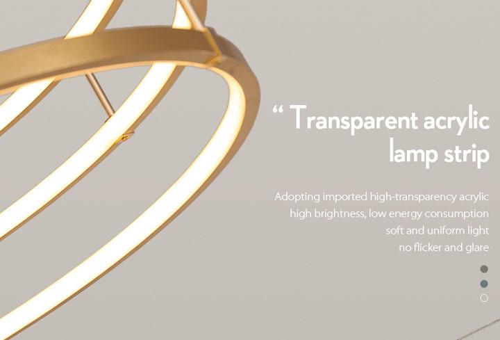 CEOU flower shaped pendant lamp manufacturer for home decor