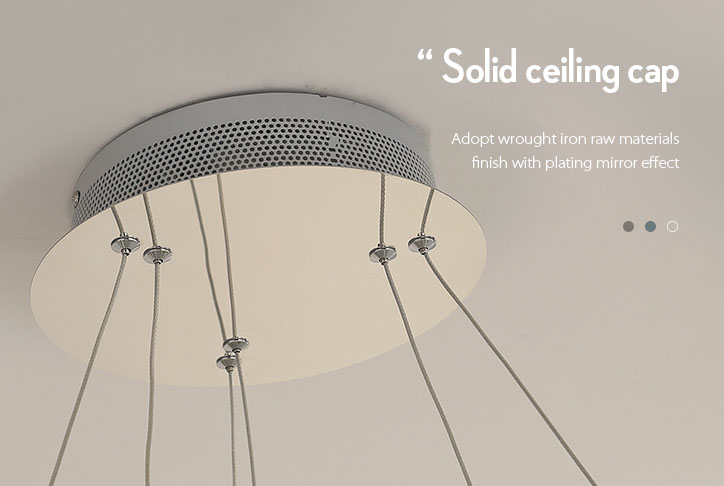linear pendant lamp amazing for hotel CEOU-7