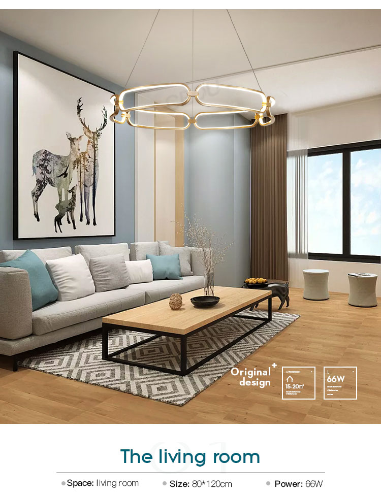 linear pendant lamp amazing for hotel CEOU-8