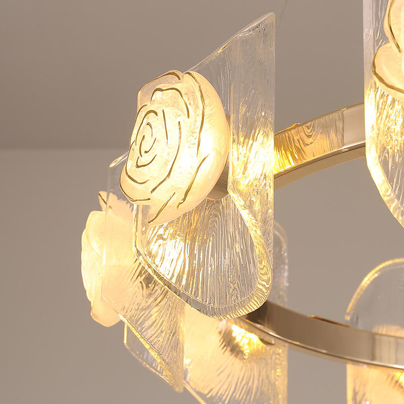 Modern Hanging Decorative LED Glass Pendant Light CD1016
